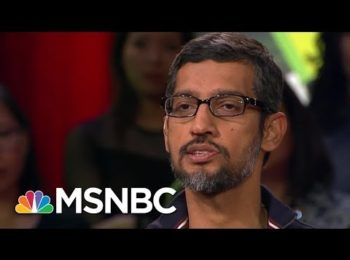 Google CEO Sundar Pichai: A.I. More Important To Humanity Than Fire And Electricity | MSNBC